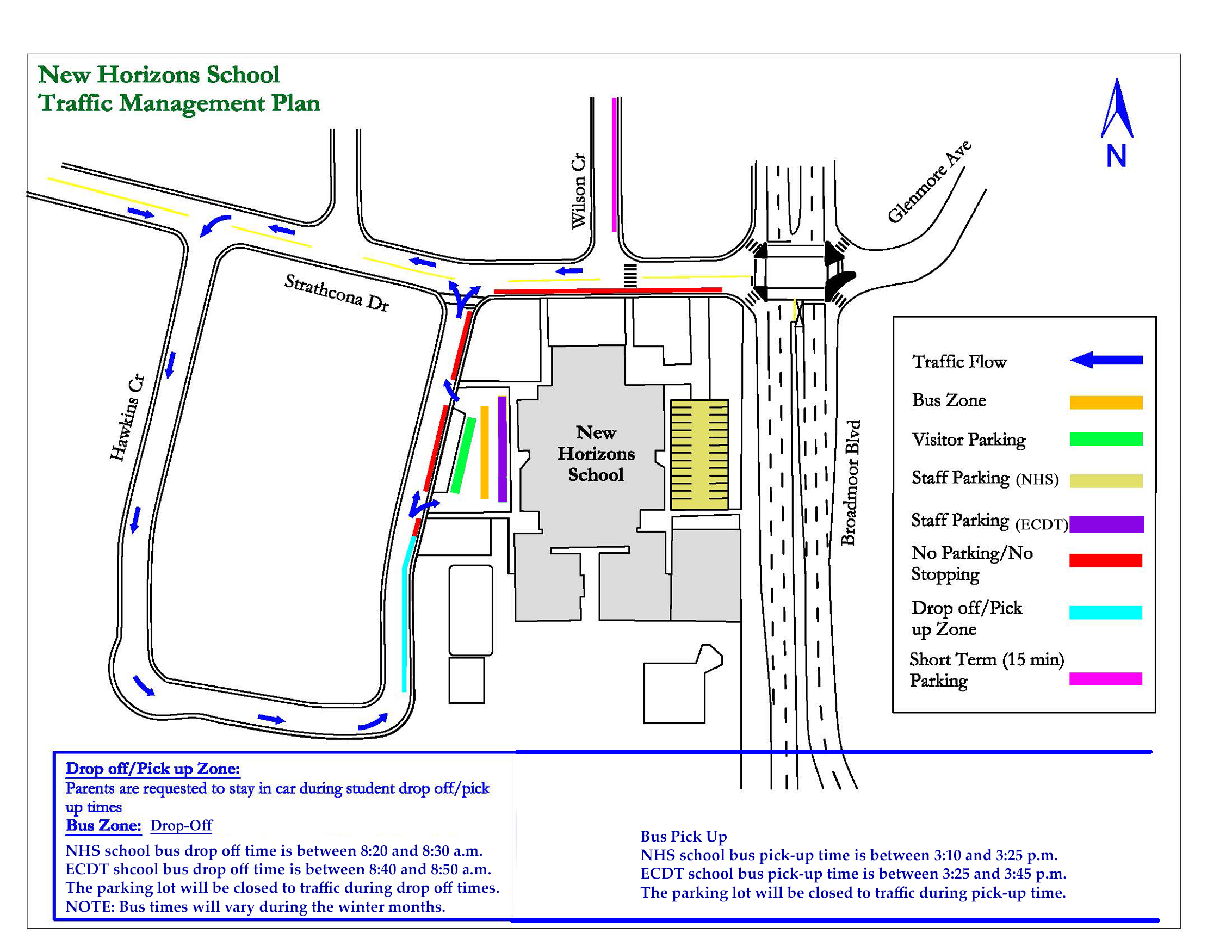 New Horizon School Traffic Control August 26 - New Horizons